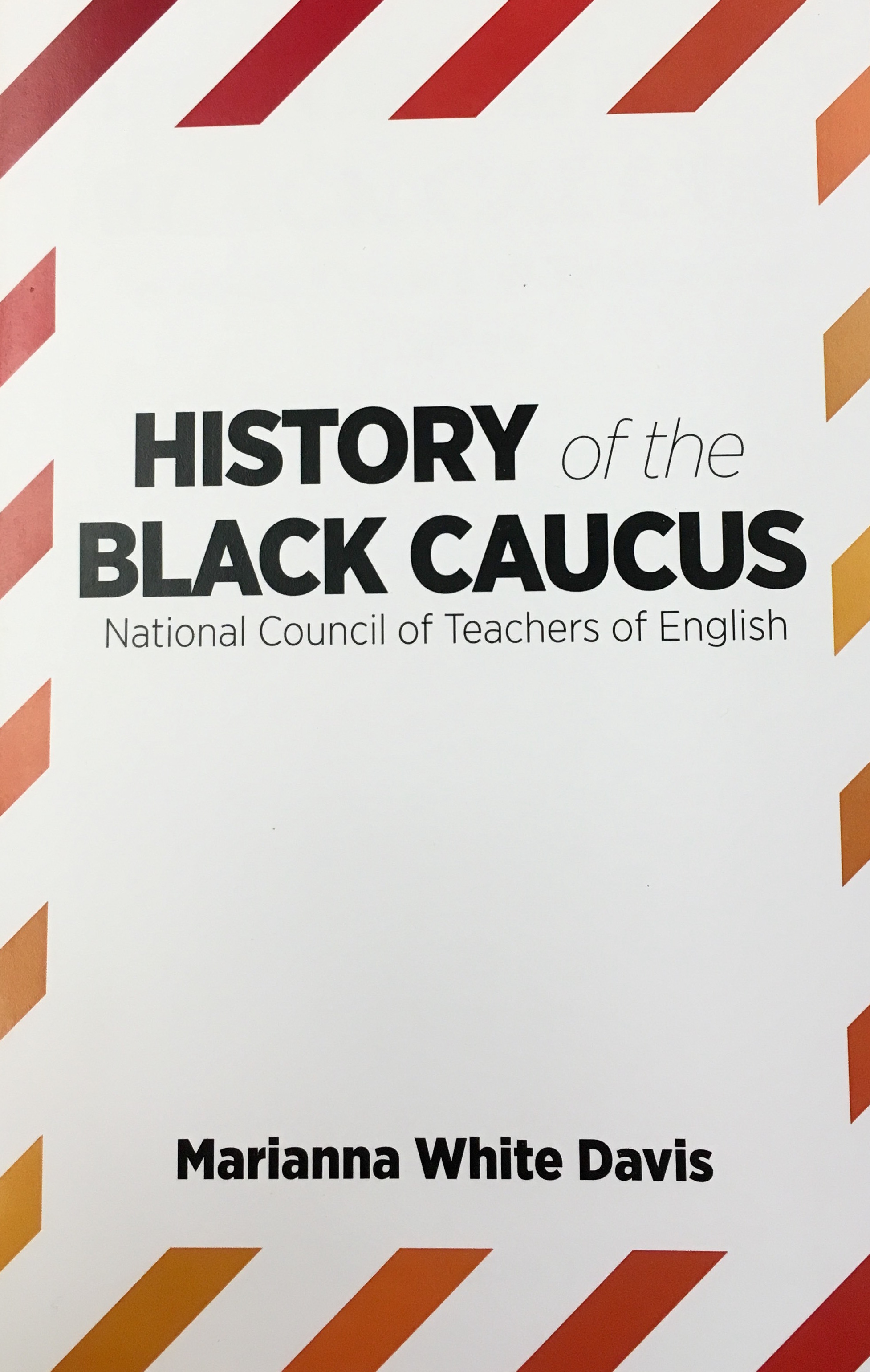 Cover for History of the Black Caucus